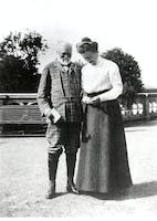 Andrew and Louise Carnegie at Skibo Castle, 1912