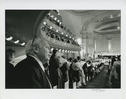 Isaac Stern in Carnegie Hall, 1991