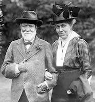 Louise and Andrew Carnegie, 1915
