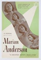 Marian Anderson concert flyer, 1943