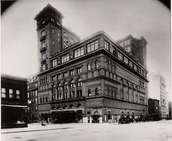 Carnegie Hall Exterior, 1899