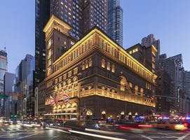 Carnegie Hall Exterior – Night
