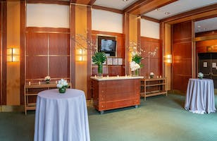 The Jacobs Room, ready to welcome guests for a post-concert reception