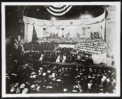 Woman's Suffrage Convention at Carnegie Hall, October 29, 1909.