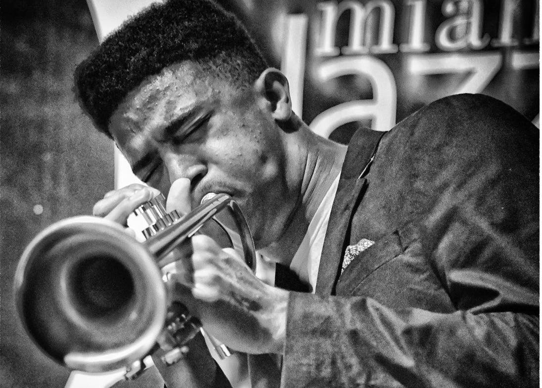 Trumpeter Cyrus Mackey