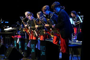 NYO Jazz musicians in concert at the NCPA Beijing