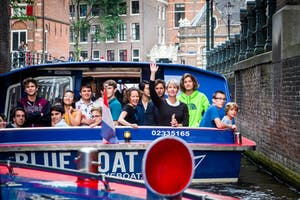 NYO-USA boat tour in Amsterdam