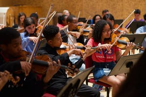 NYO2 performs side by side with the Sphinx Symphony Orchestra
