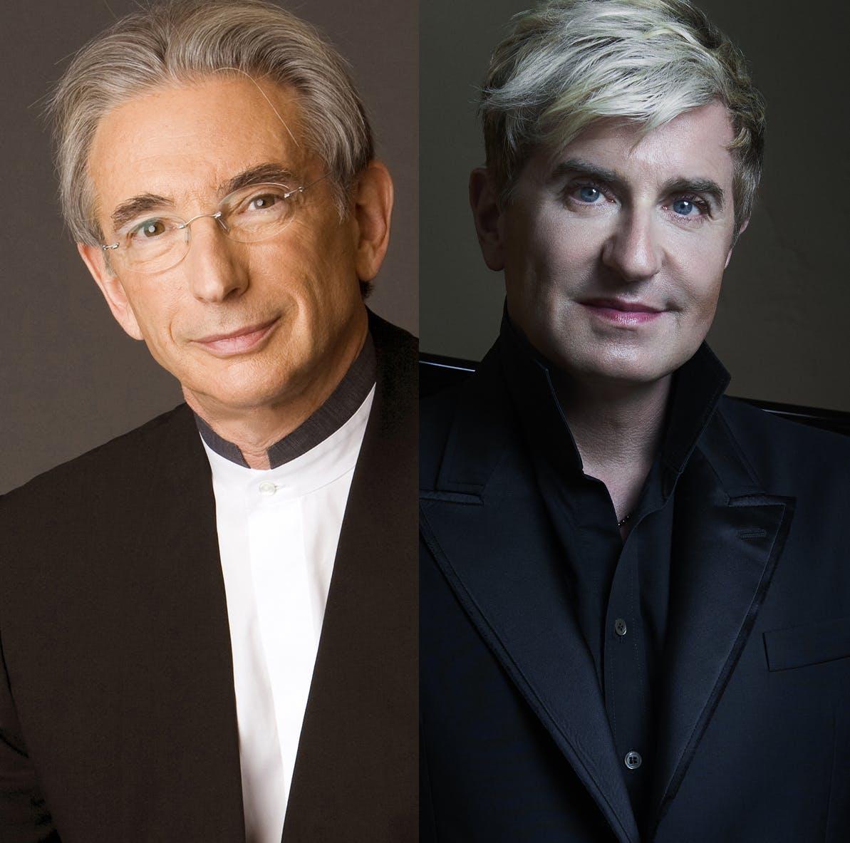 Michael Tilson Thomas and Jean-Yves Thibaudet