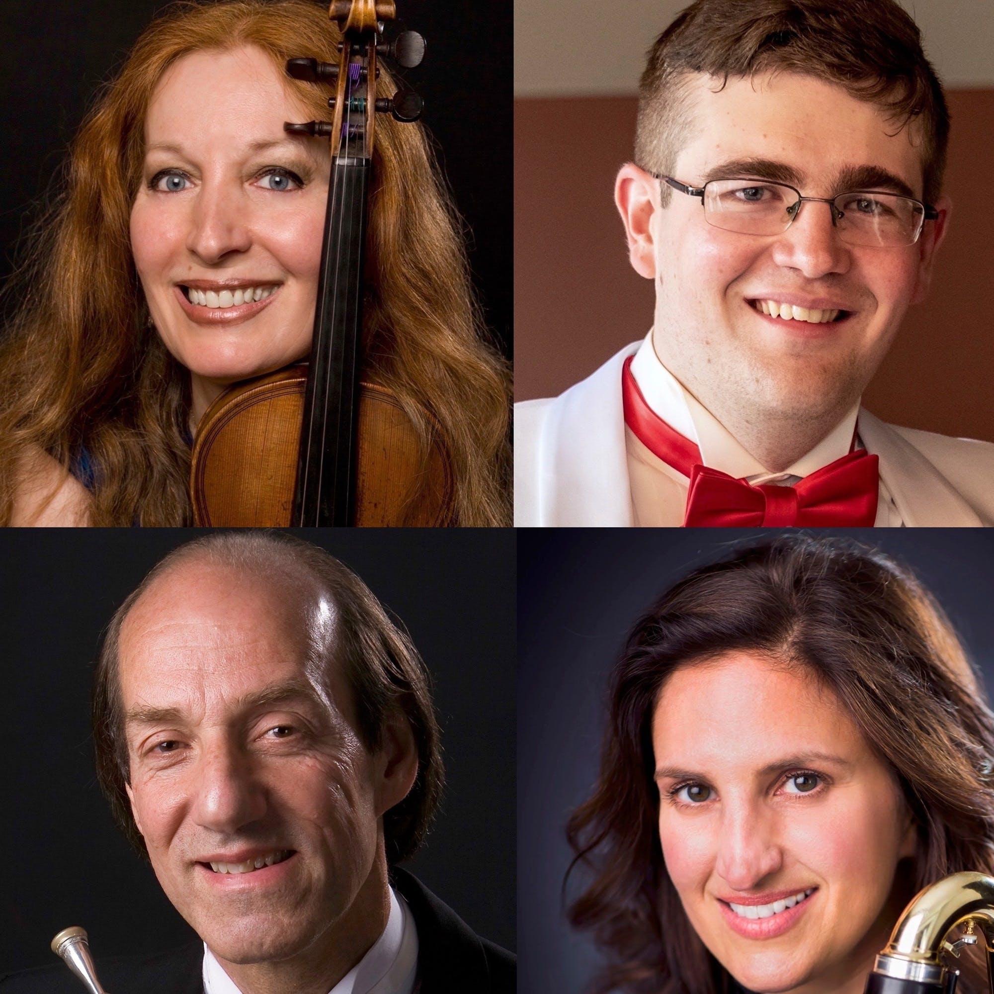 IMPORT Elmira Darvarova, Violin; Amy Zoloto, Clarinet; Howard Wall, Horn; Thomas Weaver, Piano at Carnegie Hall