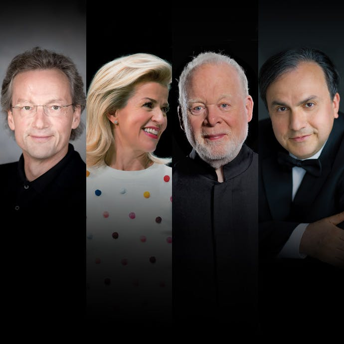 Franz Welser-Most, Anne-Sophie Mutter, Lynn Harrell, Yefim Bronfman