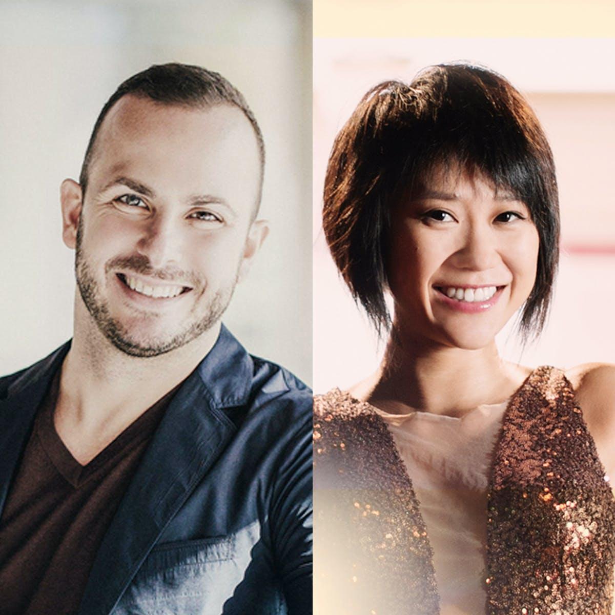 Yannick Nézet-Séguin and Yuja Wang