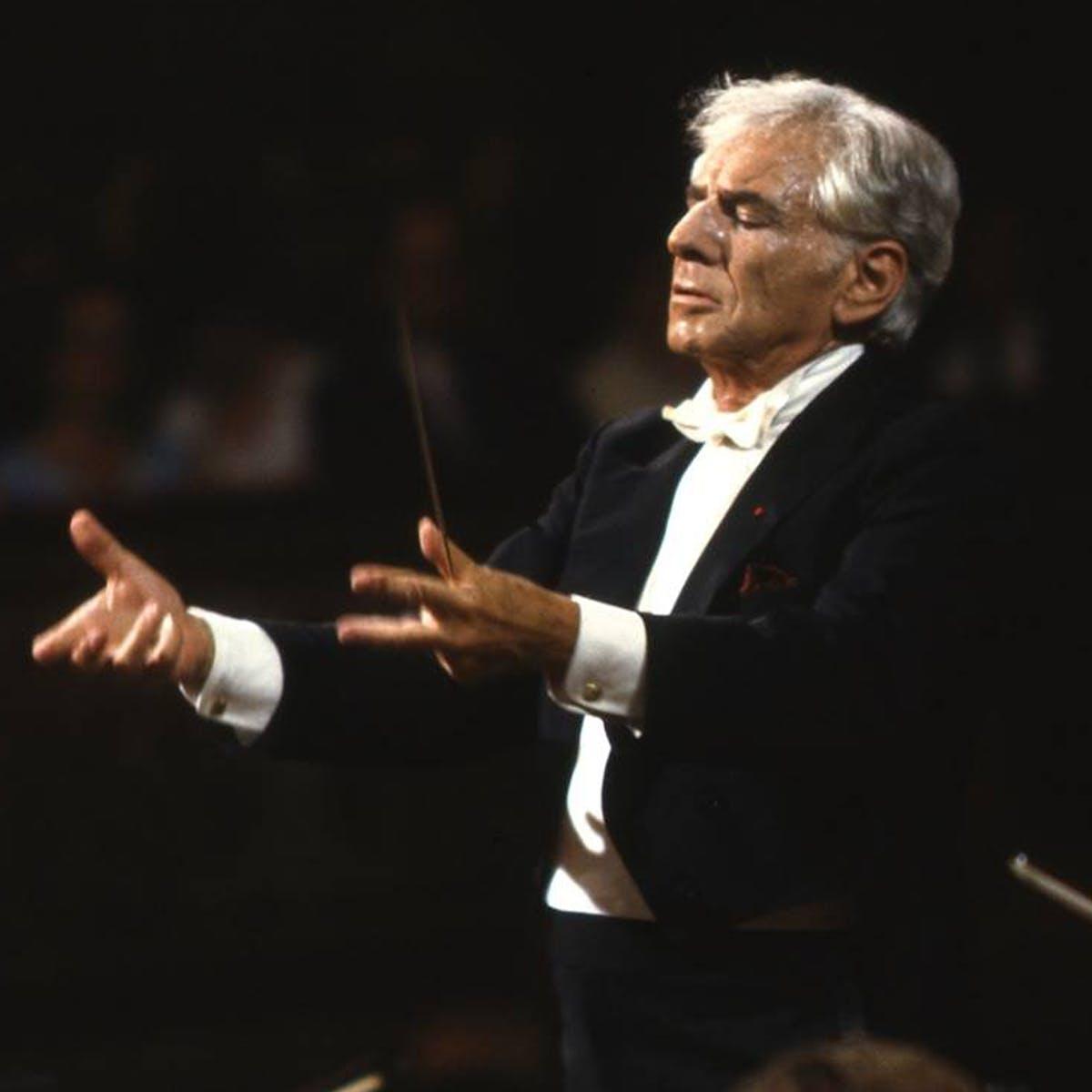 Leonard Bernstein conducts
