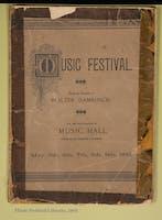 Opening Week Music Festival Booklet