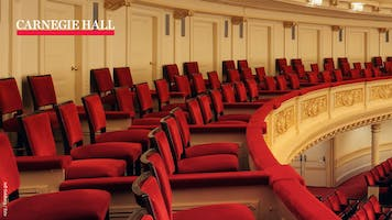 Seats in Stern Auditorium