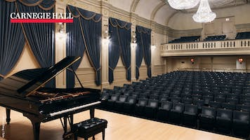 View of Weill Recital Hall from the stage