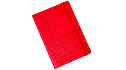 A red journal
