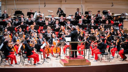 Sir Antonio Pappano conducts NYO-USA at Carnegie Hall