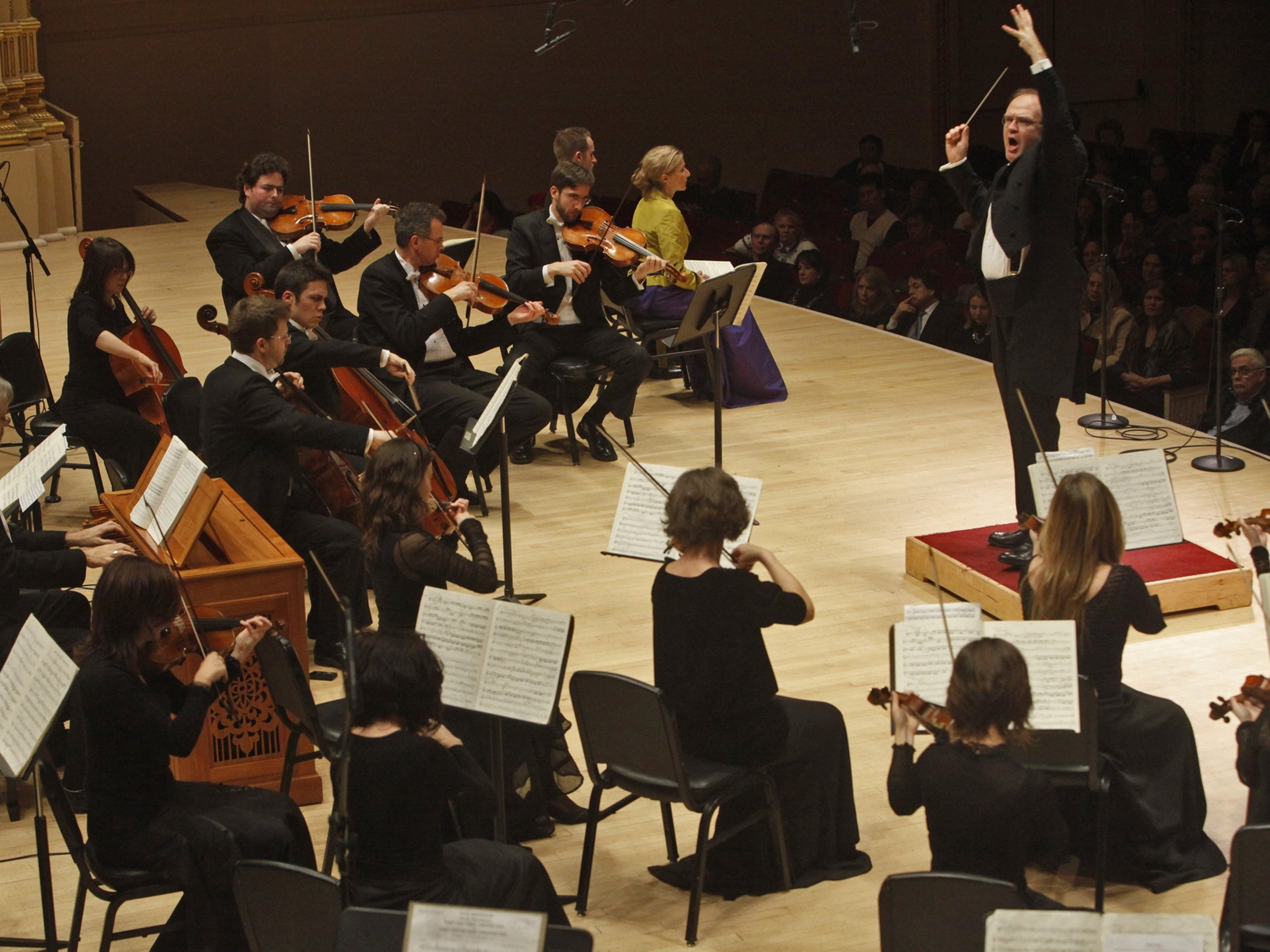 Bernard Labadie conducts Les Violons du Roy