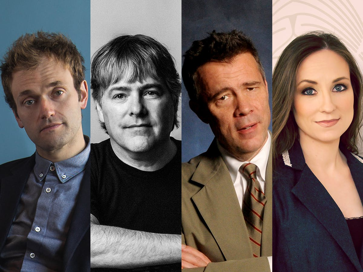 Chris Thile, Bela Fleck, Edgar Meyer, and Julie Fowlis