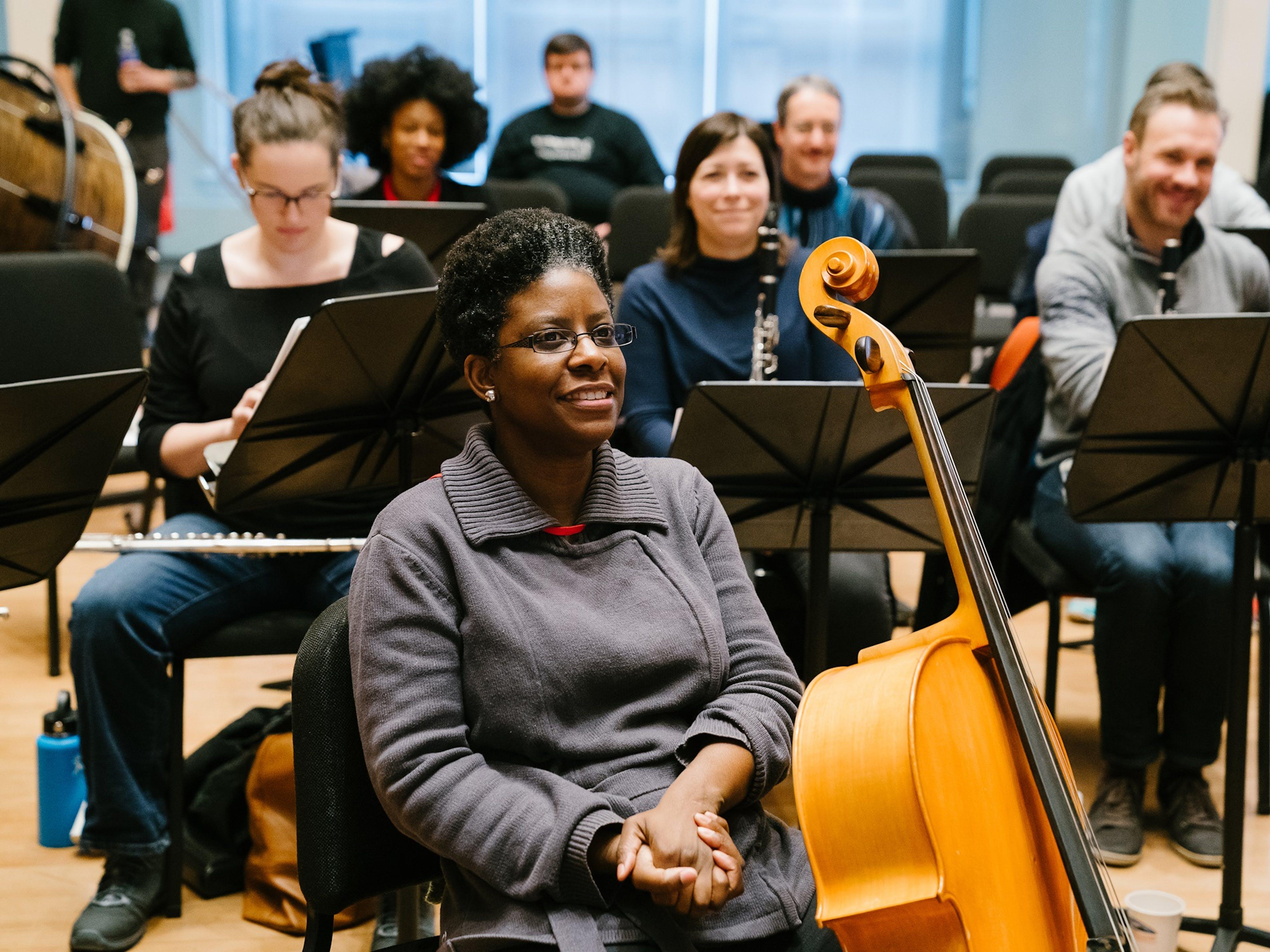 Teachers participate in the Summer Music Educators Workshop