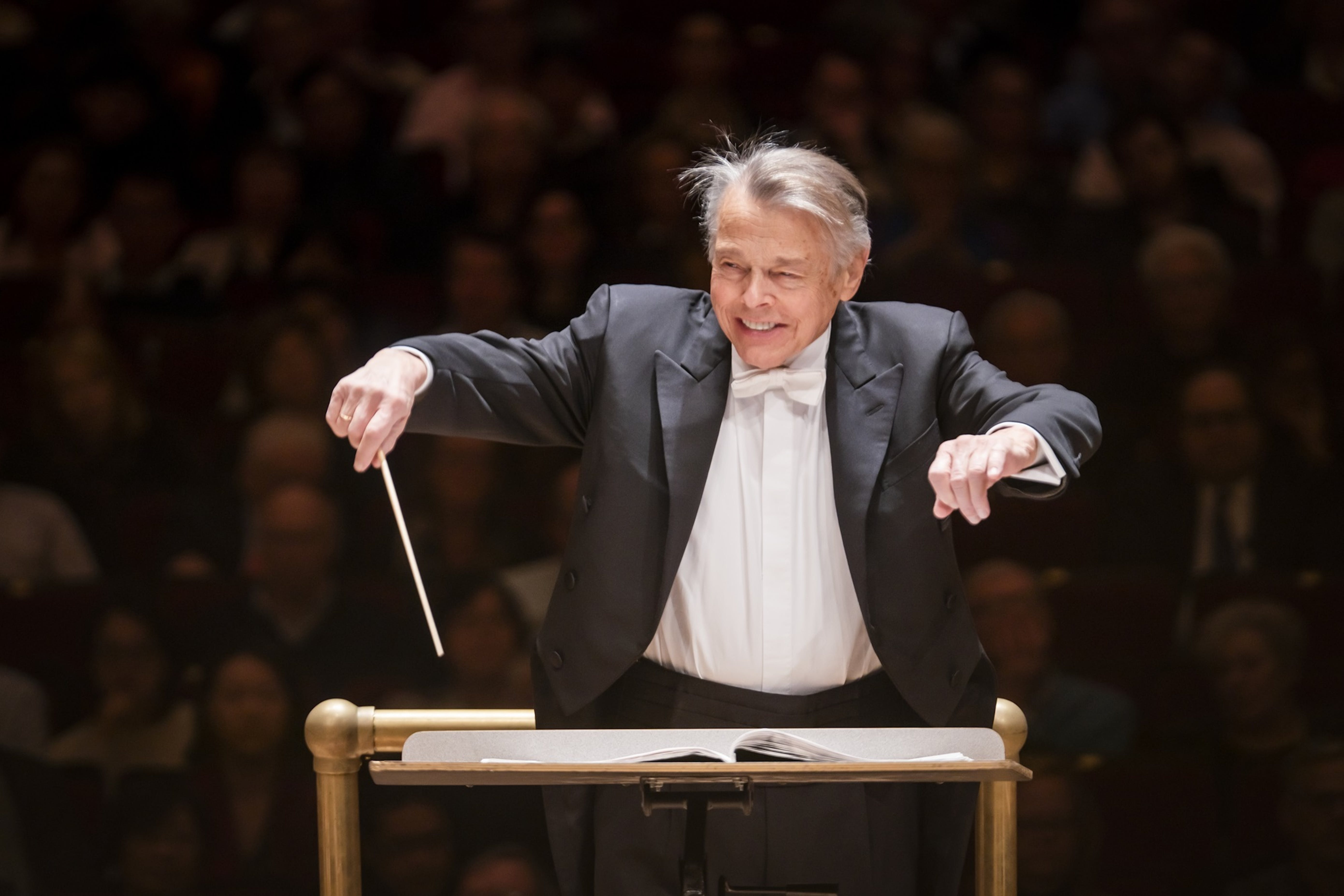 Mariss Jansons conducts the Bavarian Radio Symphony Orchestra
