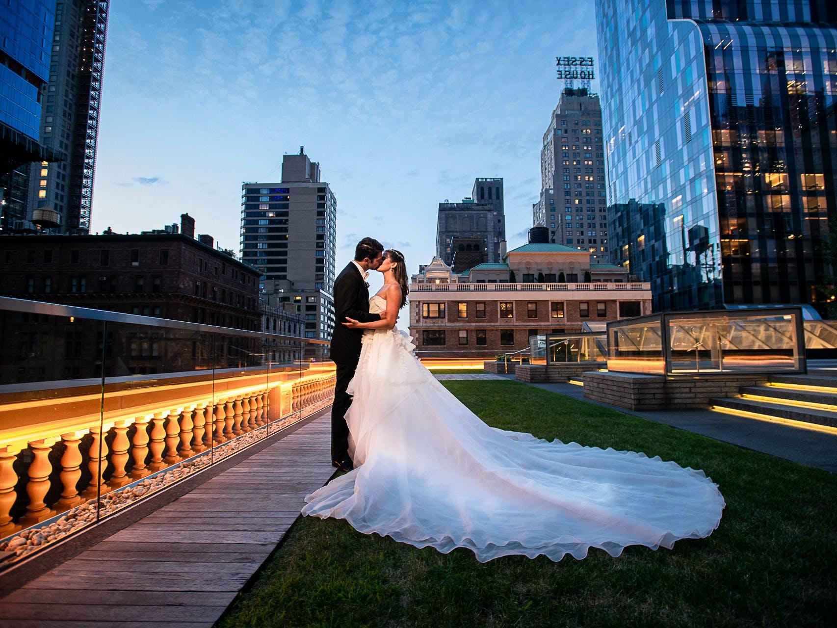 Wedding on Weill Terrace