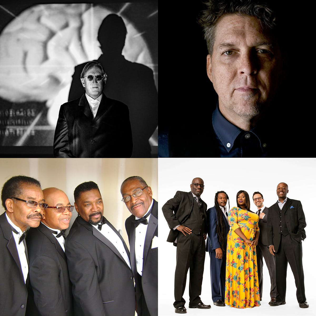 T Bone Burnett, Joe Henry, The Fairfield Four, Ranky Tanky