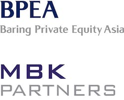 BPEA Baring Private Equity Asia and MBK Partners logos