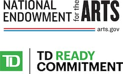National Endowment for the Arts; TD Ready Commitment logos