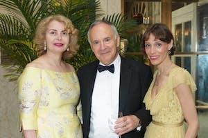 Sana H. Sabbagh, and Clive and Anya Gillinson by Julie Skarratt