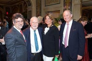 Dareh Gregorian, Vartan Gregorian, Susan Mercandetti, and Ambassador Richard Haass by Julie Skarratt