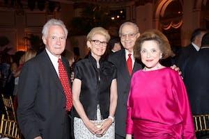 John and Emily K. Rafferty, Richard A. Debs, and Marina Kellen French by Julie Skarratt