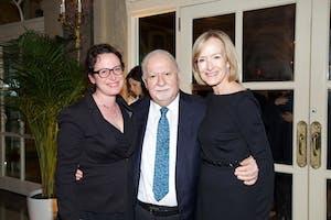 Vartan Gregorian, Judy Woodruff, and Maggie Haberman by Julie Skarratt