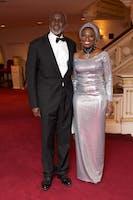 Gbenga and Aisha Oyebode (Photo by Julie Skarratt)