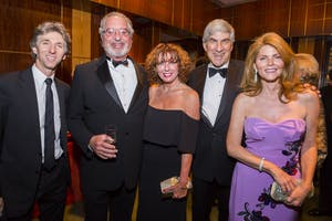 Damian Woetzel, S. Donald Sussman, Michelle Howland, and Bruce and Suzie Kovner