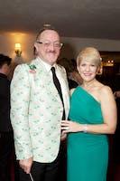 Andrew Martin-Weber and Joyce DiDonato (Photo by Julie Skarratt)