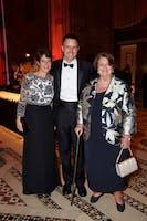 Sarah Billinghurst Solomon with Jeff Haydon and Kathy Schuman (Photo by Julie Skarratt)