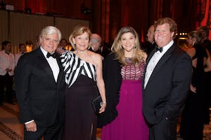 Thomas and Cynthia Sculco with Sarah Jane and Trevor Gibbons (Photo by Julie Skarratt)