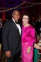 Gala Lead Chairmen Robert F. Smith and Mercedes T. Bass (Photo by Julie Skarratt)