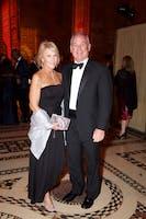 Gala Corporate Chairman Dennis M. Nally with wife Karen Nally (Photo by Julie Skarratt)