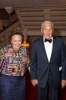 Ann and Kenneth J. Bialkin (Photo by Julie Skarratt)