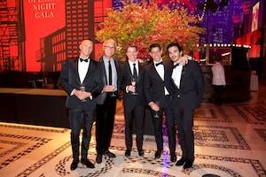 Rob Shamalo with Dario Timotic, David Aldea, Matthew P. Feldmann, Andrew L. Sween (Photo by Julie Skarratt)