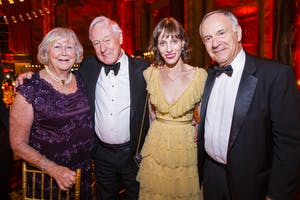 Margaret Smith, Ian Smith, Anya Deutsch, Clive Gillinson. Photography by Chris Lee.
