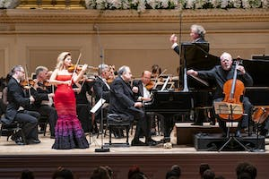 Anne-Sophie Mutter, Yefim Bronfman, and Lynn Harrell with Franz Welser-Möst and The Cleveland Orchestra