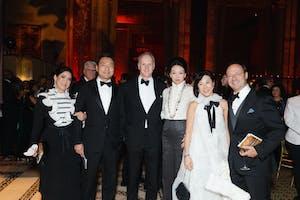 Sabrina W. Fung, Kevin Lam, Mark Machin, Jenny Gu, and Melanie and Jean Salata