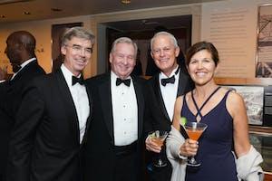 Thomas G. Maheras, Ted McCourtney, and John and Katie Anthony