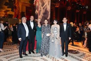 Charles Ueng, Wolfgang and Sabine Egger, Cindy Chao, and Maggie and Richard Tsai