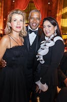 Anne-Sophie Mutter, Robert F. Smith, and Sabrina Fung