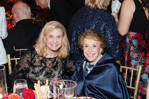 Congresswoman Carolyn Maloney and Joan H. Weill